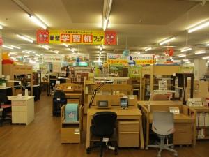 学習机アウトレット売り場